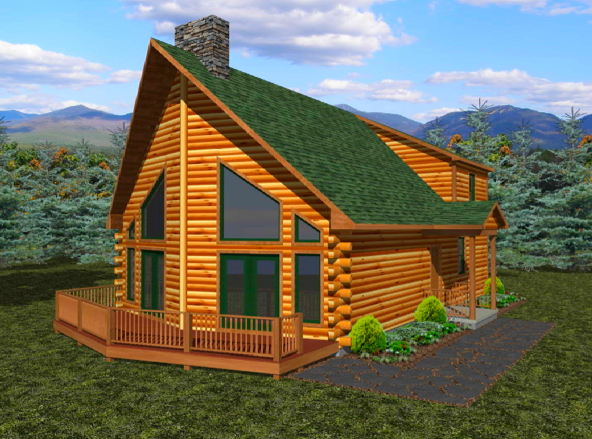Did You Know that Barden Designs Log Homes?